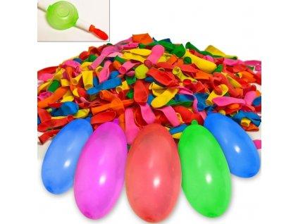 Balónky na vodu + pumpa - 500 kusů