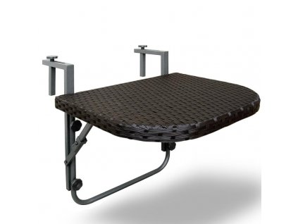 Závěsný stolek na balkon - sklopný