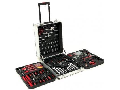 Kufr s nářadím na kolečkách - 399 kusů