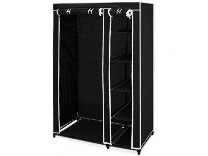 Prostorná, vlhku odolná šatní skříň - ocelová konstrukce