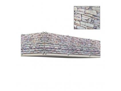 Balkónové krytí, kryt balkónu - imitace kámen