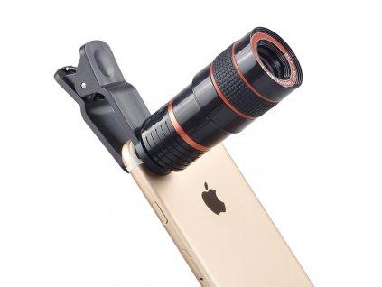 Optický zoom pro mobilní telefon 12x zoom