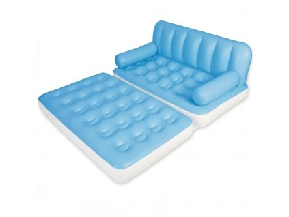 Dvojdílná nafukovací postel matrace křeslo