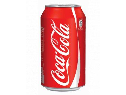 coca cola plech 033l
