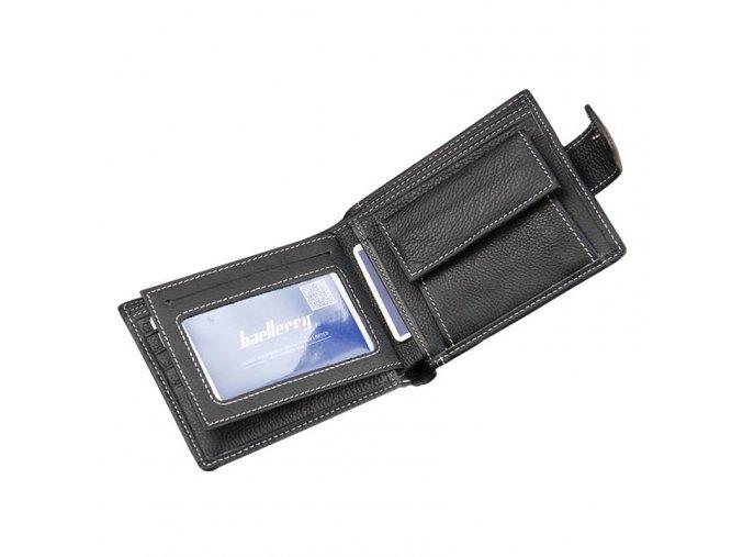 Kožená peněženka černá Baellerry