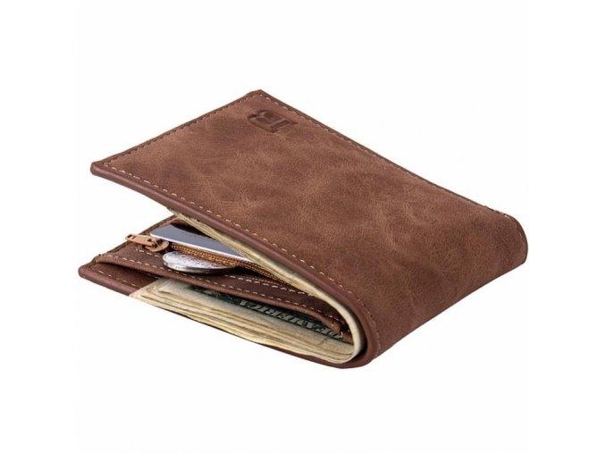 Pánská peněženka hnědá Baborry