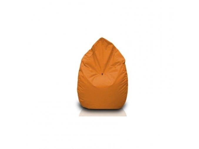 Sedací vak hruška Bullibag oranžová bulli_112