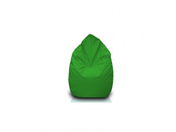 Sedací vak hruška Bullibag zelená bulli_100