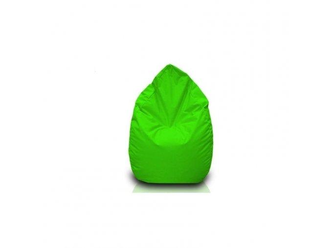 Sedací vak hruška Bullibag neonově zelená bulli_101