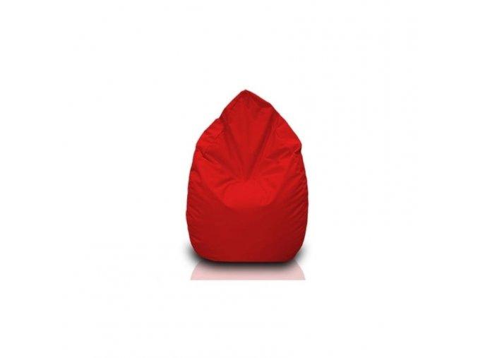 Sedací vak hruška Bullibag červená bulli_107