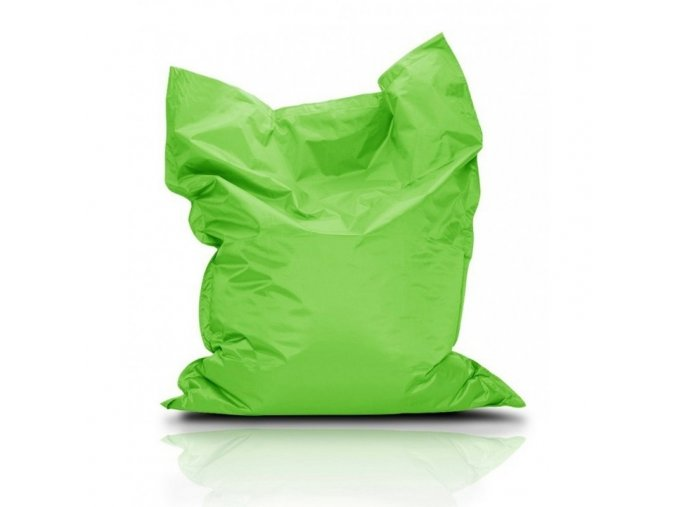 Sedací pytel Bullibag neonově zelený bulli_010