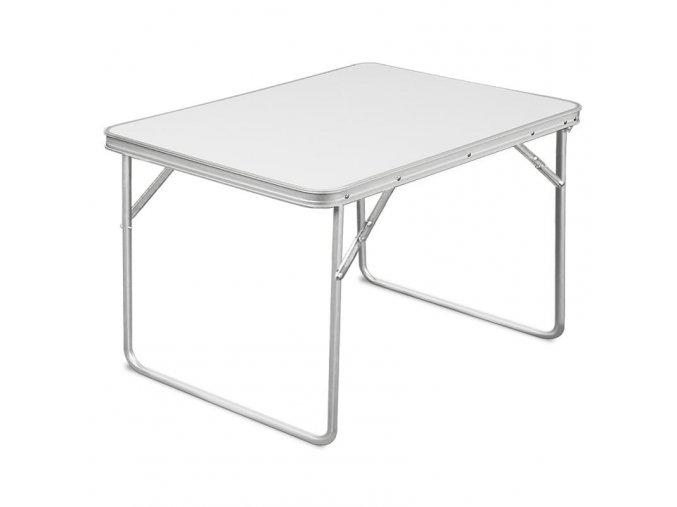 Skládací hliníkový stůl 80 x 60 x 68 cm