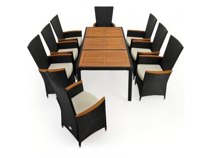 Zahradní nábytek 8+1, dřevo