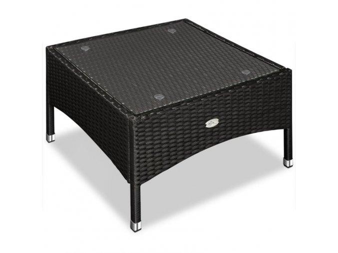 Zahradní stolek z umělého ratanu
