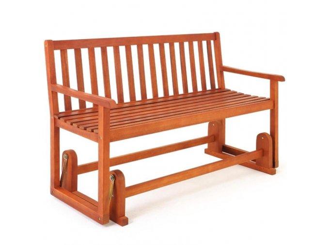 Houpací lavice z akátového dřeva
