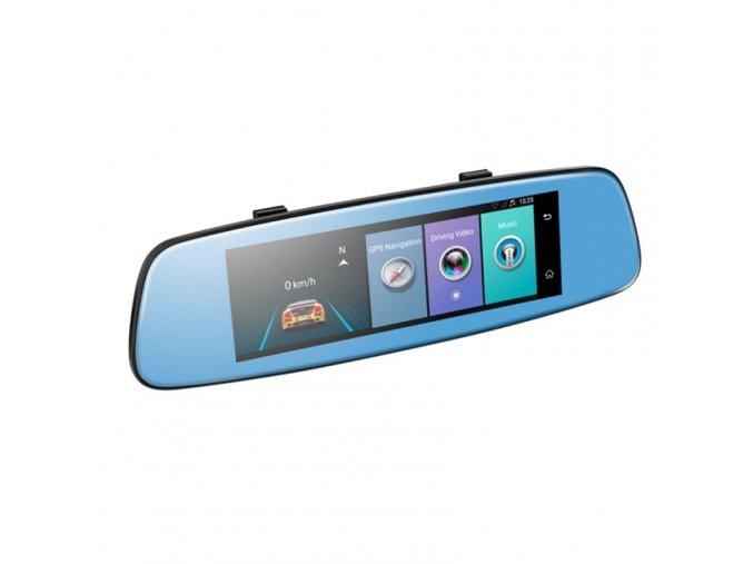 Zpětné zrcátko s GPS navigací, WiFi a kamerou