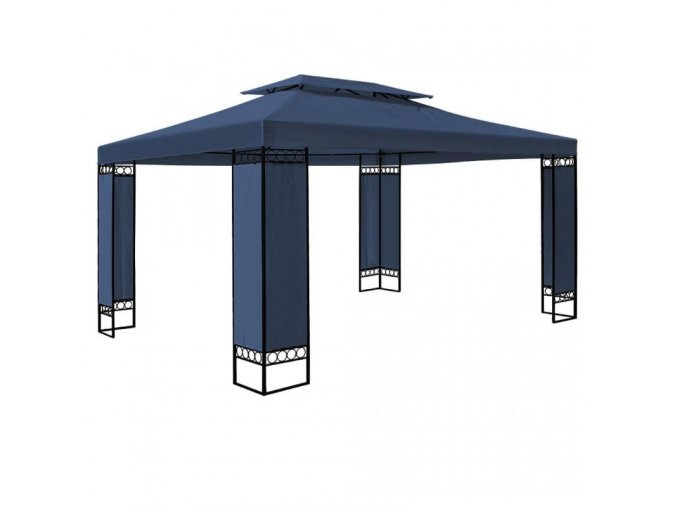 Zahradní pavilon, altán ELDA 3 x 4 m modrý