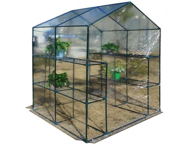 Plastový skleník
