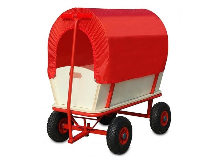 Vozík s ochranným krytem 82 x 62 x 82 cm