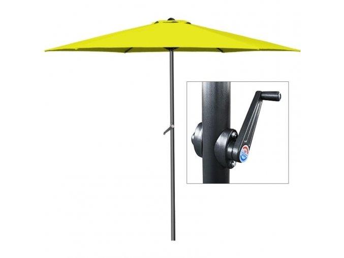 Slunečník s klikou O 300 cm