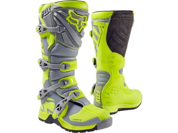 Comp 5 Boot - Yellow/Grey, MX17