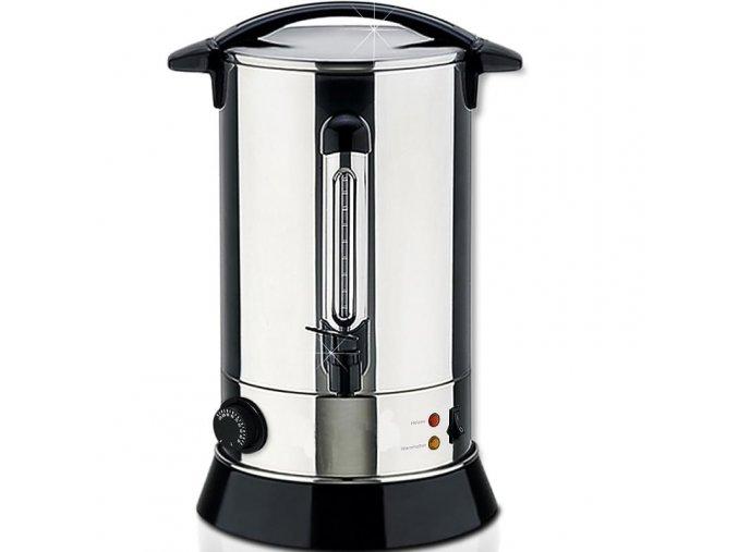 Vařič na svařák - nerezový hrnec na svařené víno čaj 6,8L