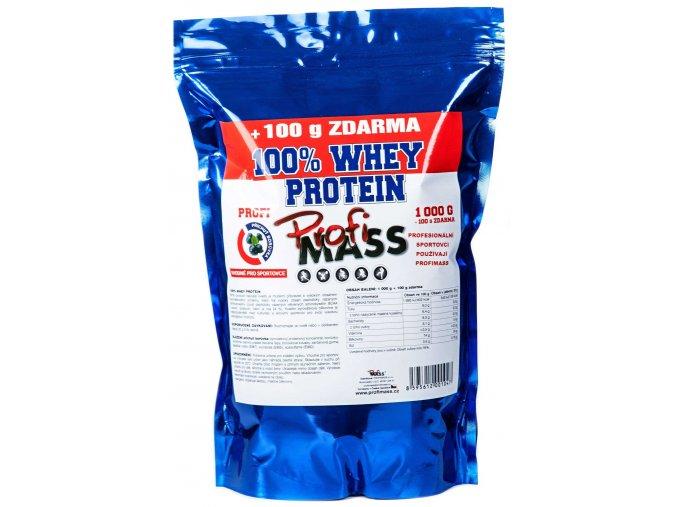 profimass 1047 profi 100 whey protein 1000 100g boruvka 0