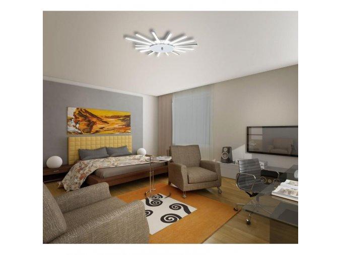 LED stropní lustr Orseo Solaris