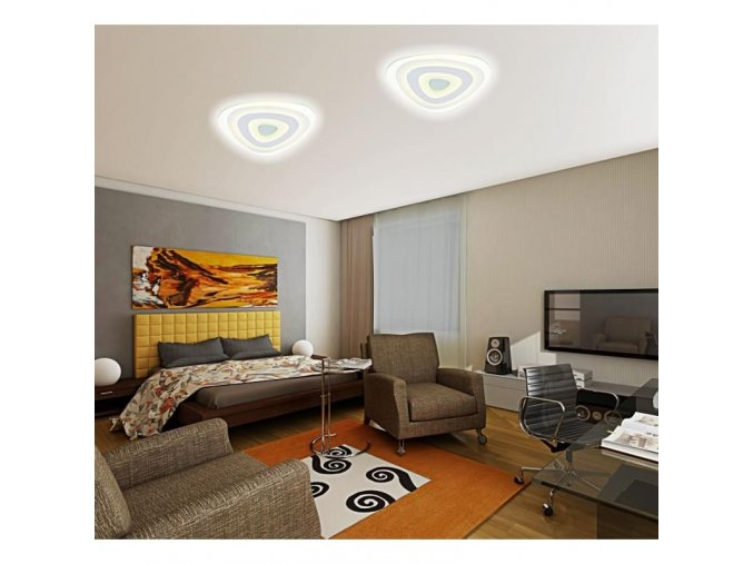 Stropní LED lustr Impesta 25W