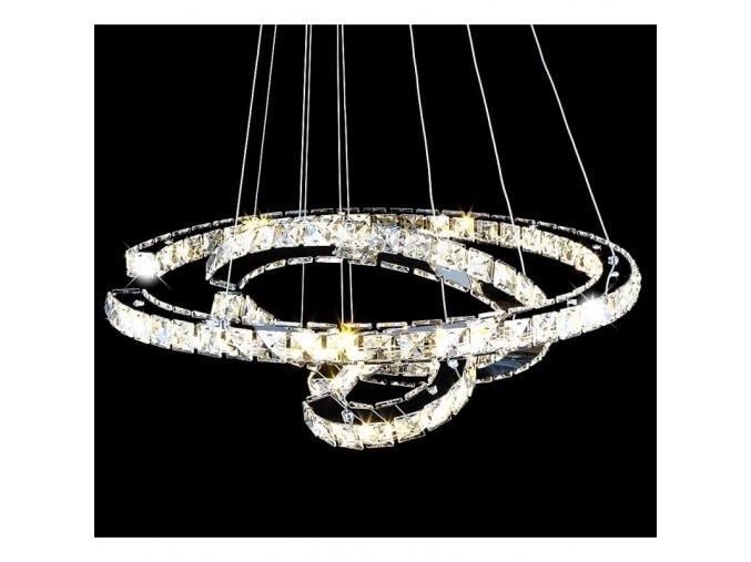 Závěsný LED lustr Orseo Venedigt O60cm