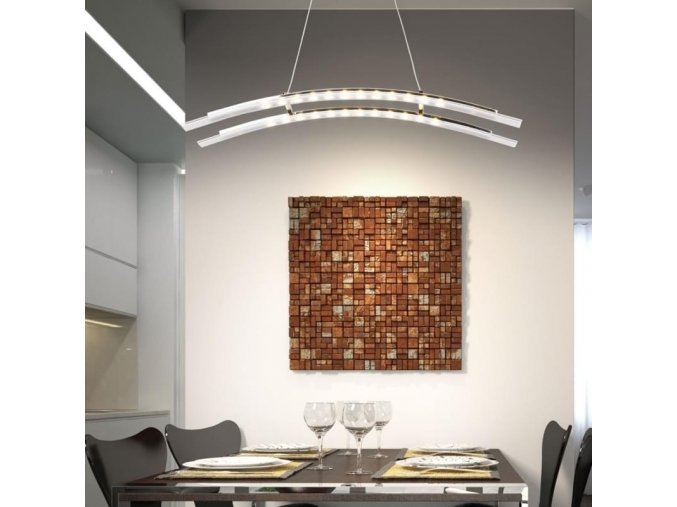 Závěsný stropní LED lustr Orseo 14 W