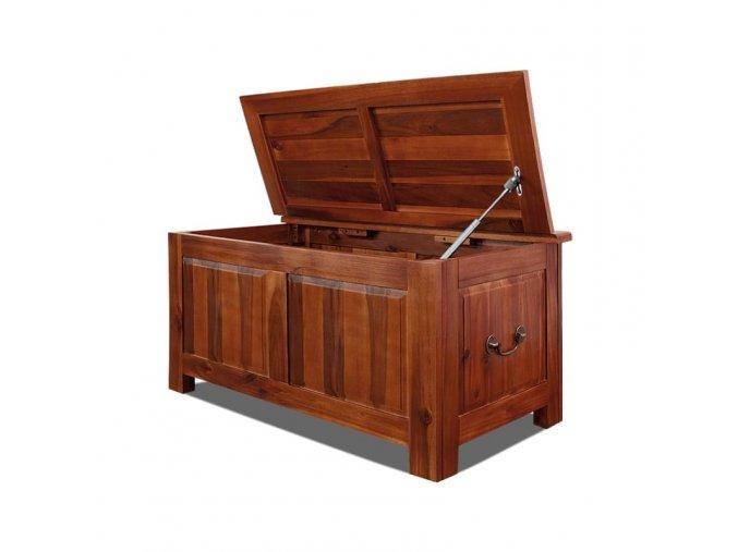 Dřevěná truhla XL