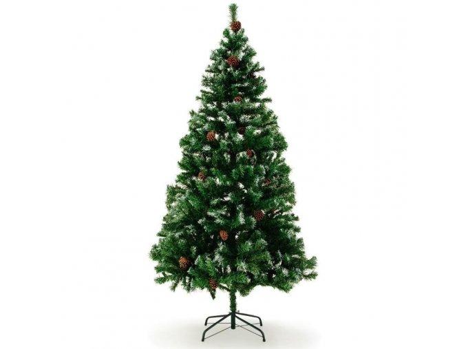 Vánoční stromek s velkou hustotou větví - 180 cm