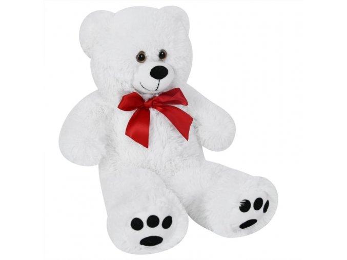 Heboučký plyšový medvěd 50 cm bílý