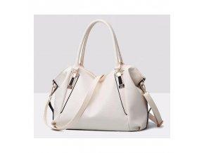 Stylová dámská kabelka bílá