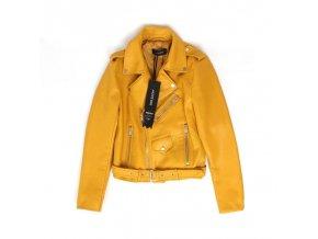 Dámská bunda křivák žlutá