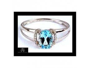 Prsten Marcus Astory MA09 ze 14K zlata s diamanty