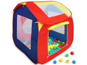 Dům domeček pro děti + 200 x míček