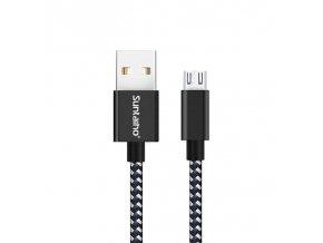 Datový a nabíjecí Micro USB kabel 1m
