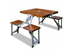 Rozkládací kempingový stůl