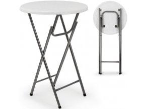 Barový stůl sklopný stolek - průměr 60 cm