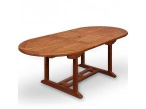Zahradní stůl Vanamo z tropického dřeva