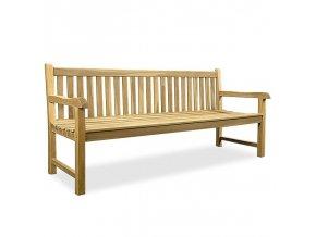 Zahradní lavice z týkového dřeva