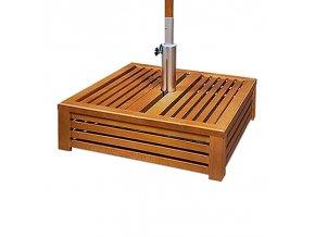 Kryt na stojan držák slunečníku - dřevěný