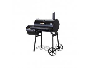 """BBQ udírna """"Mr. Smoke"""" s oddělením grilem"""