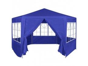 Party stan 2x2 šestistranný modrý