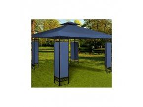 Zahradní pavilon, altán LORCA 3 x 3 m modrý
