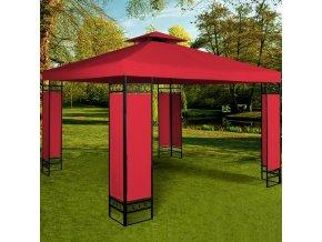 Zahradní pavilon, altán LORCA 3 x 3m červený