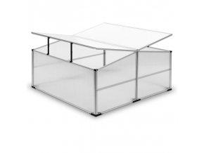 Pařeniště na račata -skleník - 110 x 110 cm