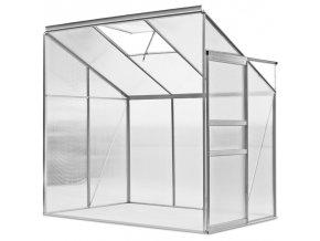 Hliníkový skleník na rajčata